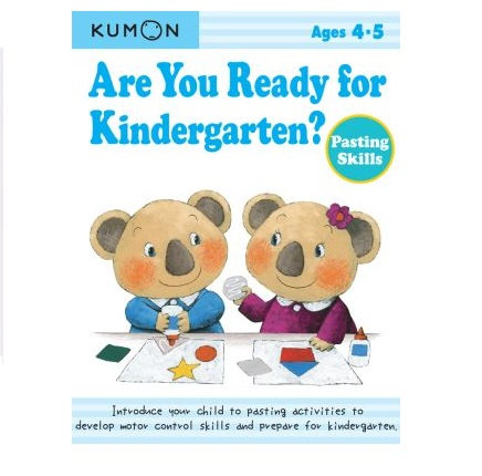 Libro Kumon Are you ready for kindergarten - pasting skills