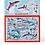 Thumbnail: Rompecabezas X 48 pc tiburones