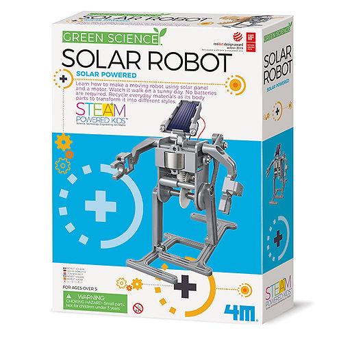 Experimento Robot Energía Solar Ecológico