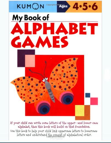 Libro kumon: My book of alphabet games