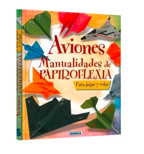Libro De Actividades Aviones, Manualidades En Papiro
