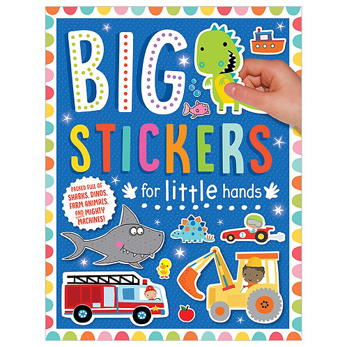 Libro De Actividades Big Stickers for Little Hands My Amazing and Awesome
