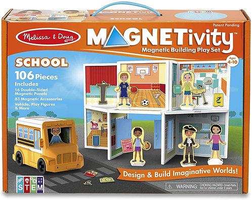 Set De Construcción Magnético El Colegio