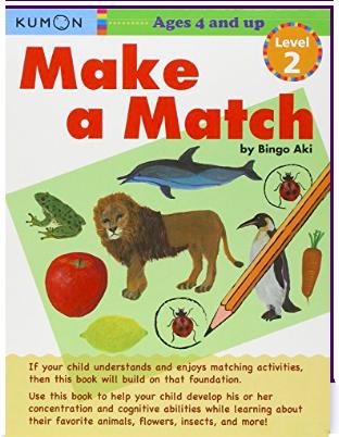 Libro kumon : Make a Match Level 2
