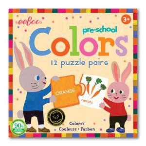 Rompecabezas asociación de colores