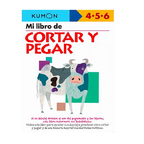 Libro Kumon Mi Libro De Cortar y Pegar