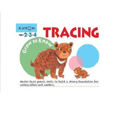 Libro Kumon Grow to know tracing