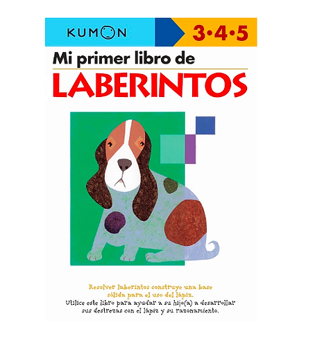 Libro Kumon Mi primer libro de laberintos