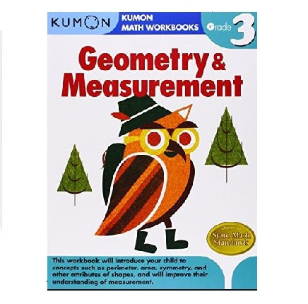 Libro Kumon Geometría Y Medición Grado 3