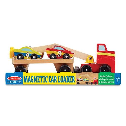 Camión de madera magnético