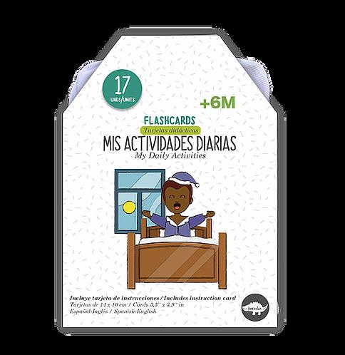 Flashcards Actividades diarias
