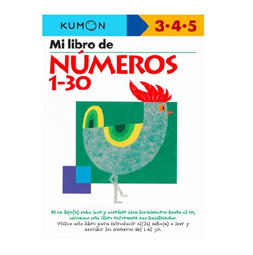 Libro Kumon Mi Libro De Números 1-30