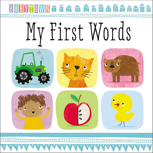 Libro Infantil Baby Town My First Words