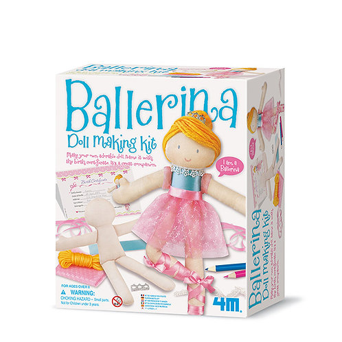Kit fábrica de Muñeca Bailarina