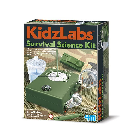 Experimento de juguete : Kit de supervivencia