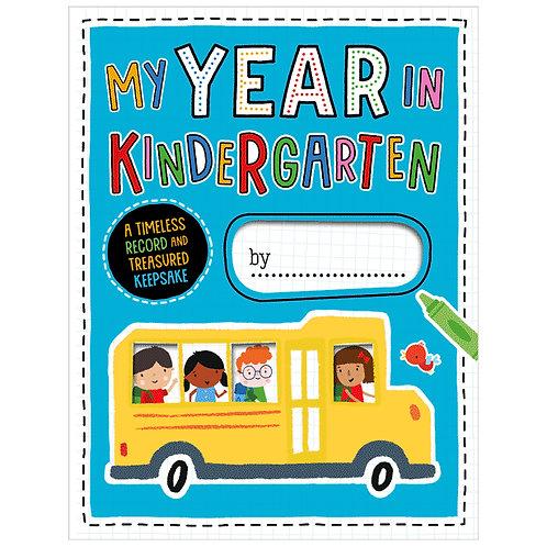Libro De Actividades My Year in Kindergarten