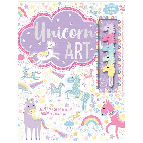 Libro De Actividades Unicorn Art