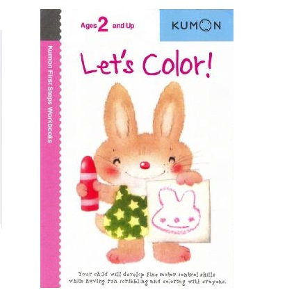 Libro Kumon Let's color