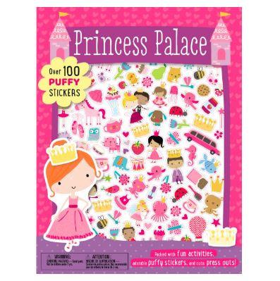 Libro inglés: Puffy sticker pricess palace