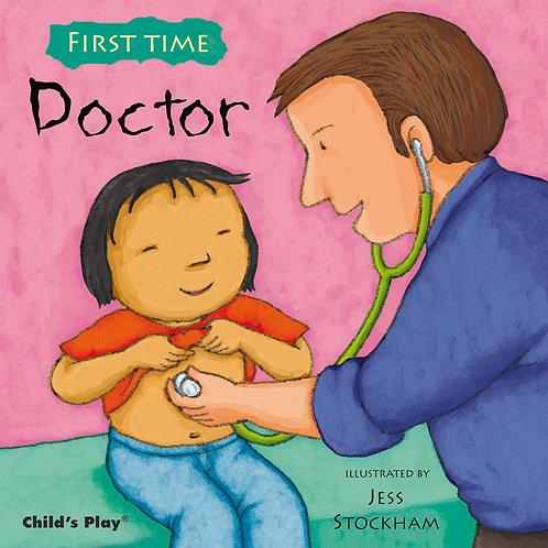 Libro Infantil First Time Doctor