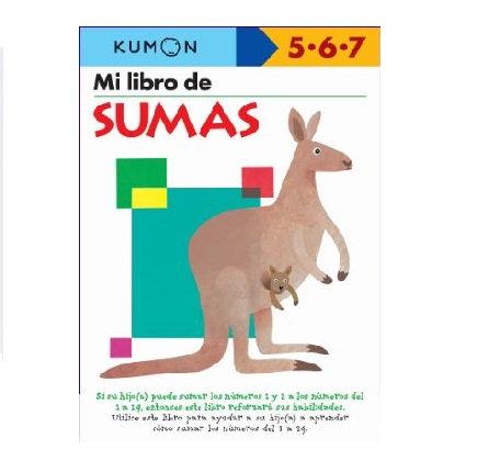 Libro Kumon Mi libro de sumas