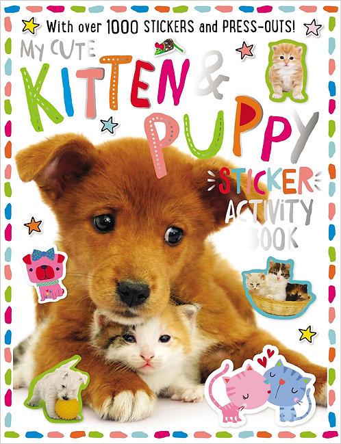 Libro De Actividades My Kitten And Puppy