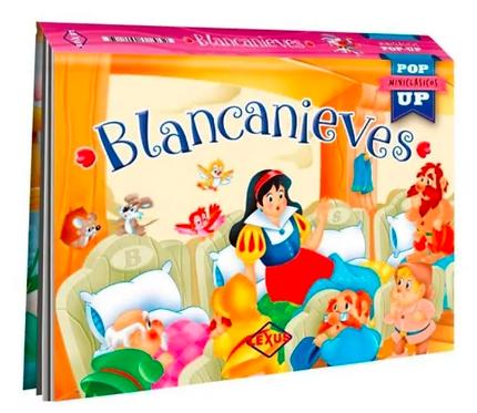 Libro Infantil Blancanieves Pop Up
