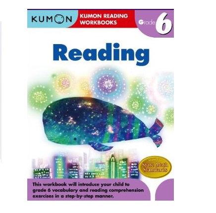 Libro Kumon Reading Grade 6