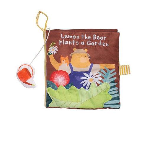 Libro De Tela Lemon The Bear Plants A Garden
