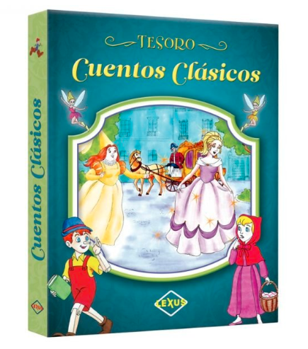 Libro Tesoro De Cuentos Clásicos