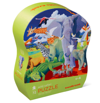 Rompecabezas 72 piezas Safari