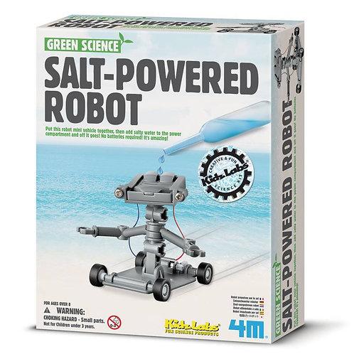 Experimento de juguete :  Robot de sal