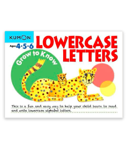 Libro Kumon Grow To Know Lowercase Letters