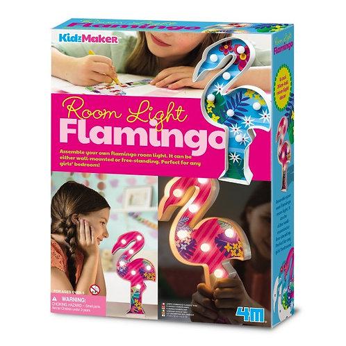 Lámpara de flamingo para decorar