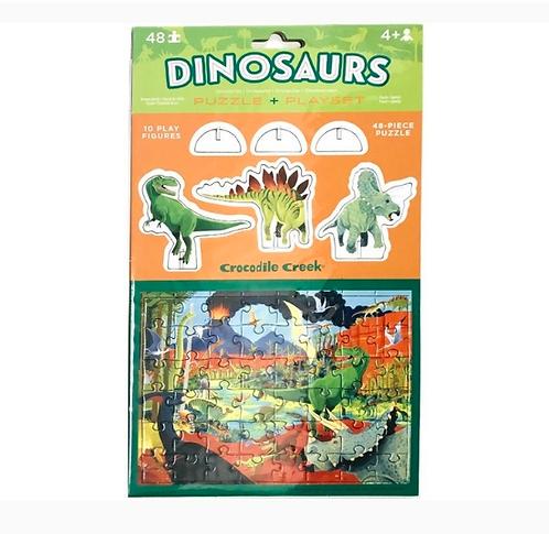 Rompecabezas 48 piezas Dinosaurios