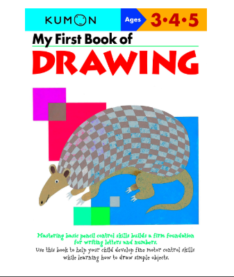 Libro Kumon  My First Book of Drawing