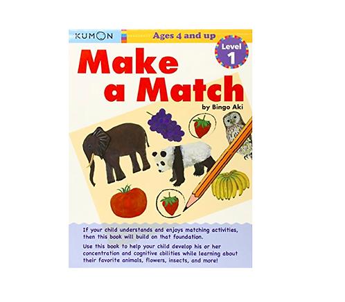Libro Kumon Make A Match Level 1