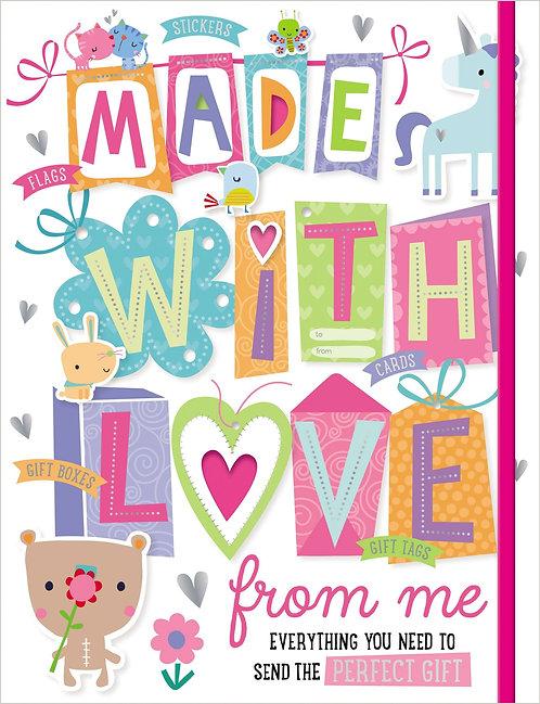 Libro De Actividades Made With Love From Me