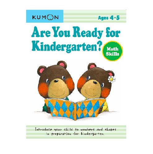 Libro Kumon Are you ready for kindergarten - math skills