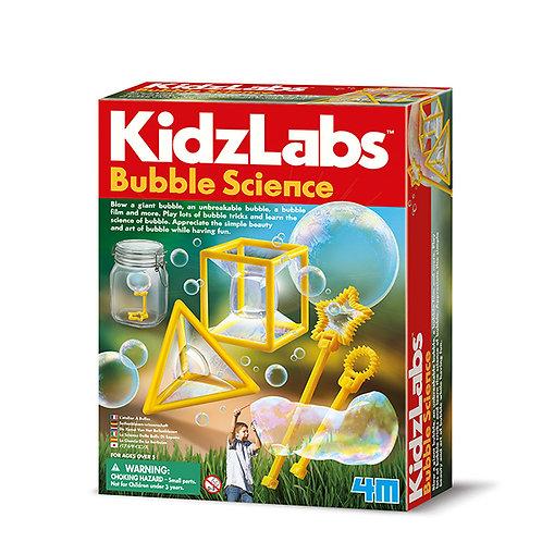 Experimento de juguete :  Ciencia de las burbujas