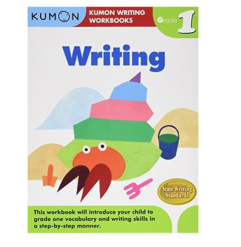 Libro Kumon Writing Grade 1