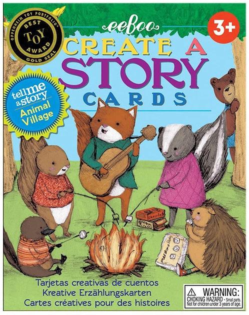Flashcards para crear historias Animales