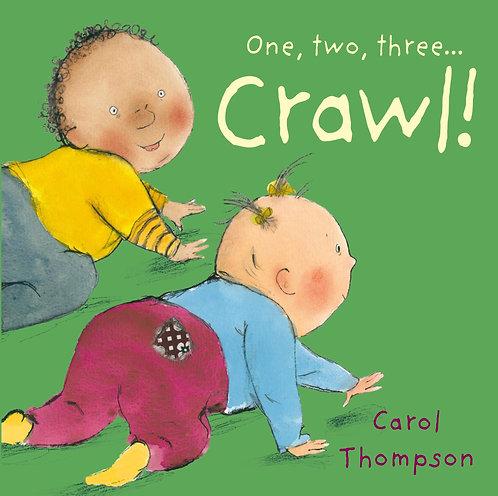 Libro Infantil One, Two, Three... Crawl!