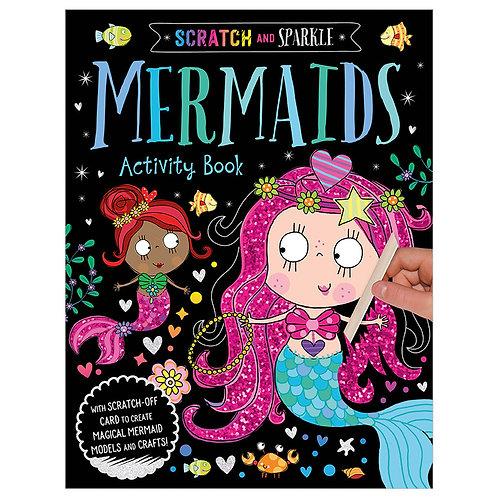 Libro De Actividades Scratch and Sparkle Mermaids Activity Book