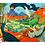 Thumbnail: Rompecabezas 100 piezas Mundo de los dinosaurios