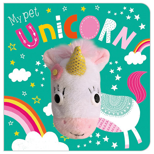 Libro Títere My Pet Unicorn