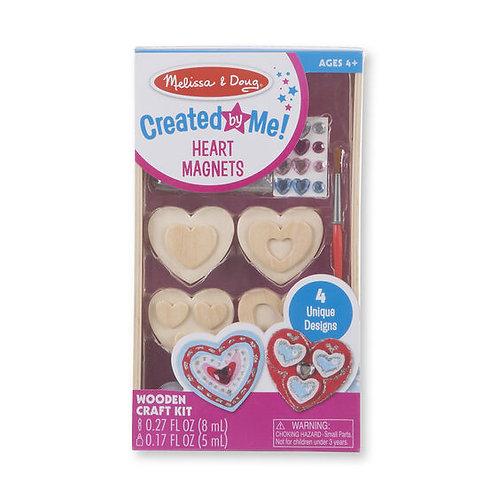 Kit para pintar y decorar corazones