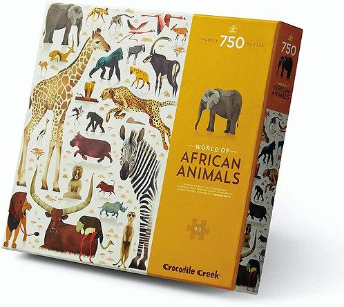 Rompecabezas 750 Piezas Animales de África