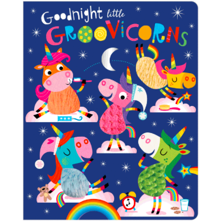 Libro De Texturas Goodnight Little Groovicorns