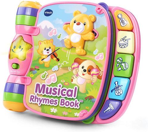 Libro Musical De Rimas Rosado